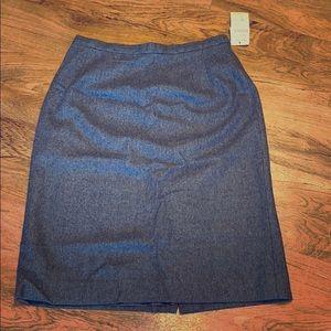 Pendleton Wool Pencil Skirt